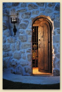 7709C Wine Cellar Entry
