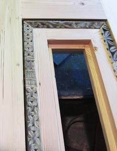 9914-02 Door wood shop