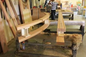 9914-01 Jamb in woodshop