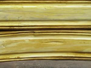 9914-01 Door Jamb in finish detail
