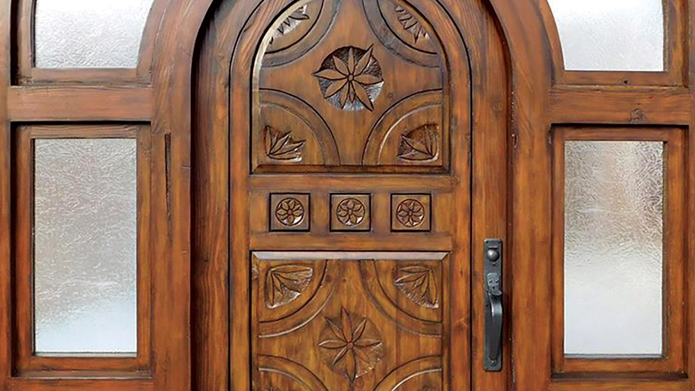 We build custom doors gates and furniture \u2014 by hand \u2014 using reclaimed wood and architectural antiques from around the world. & Custom Doors \u0026 Custom Kitchen Cabinetry - La Puerta Originals