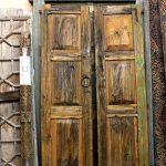Antique doors to make gate