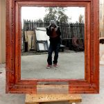 Custom wall mirror