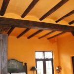 Architectural accents of beams headers and corbels
