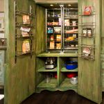 Pantry cabinet detail