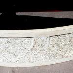 Vanity with Antique Panel