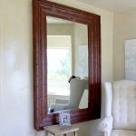Custom wall mirror