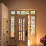Entry with sidelights & transom