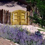 arched garden gate installed