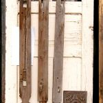 legs from antique dowry chest and antique carved panel