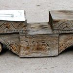 Antique corbel used in making carved door surrounds