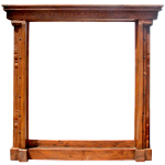 custom painting frames with carving