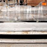 antique bench raw material