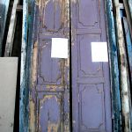 Antique doors used for bar front