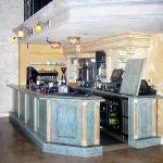 Barista bar for a restaurant