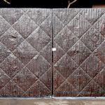 Tin clad gates 1 of 2 Front
