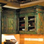 Cabin kitchen cabinetry