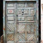 Front of Dutch door