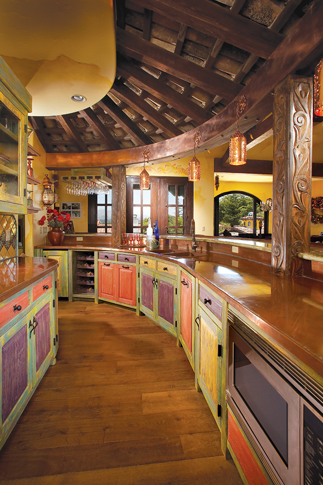 Hand Made Cherry Kitchen Cabinets By Neal Barrett Woodworking