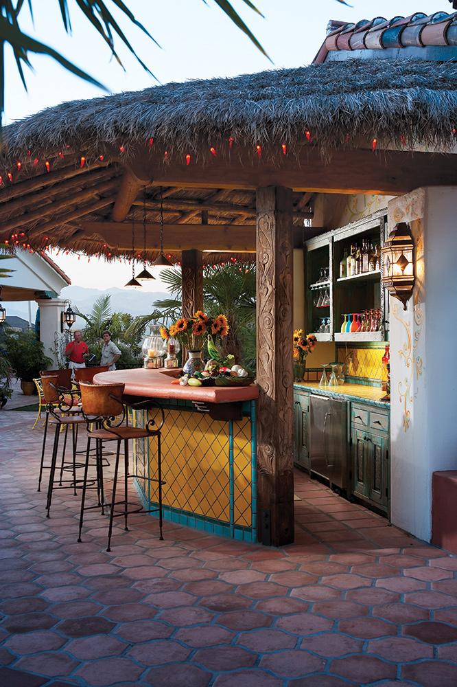 Custom Palapa Bar - La Puerta Originals on Palapa Bar Backyard id=62779