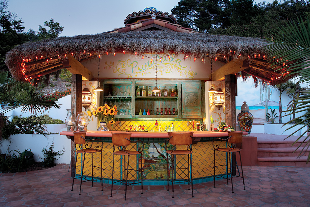 Custom Palapa Bar - La Puerta Originals on Palapa Bar Backyard id=61422
