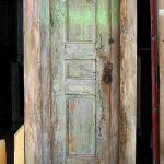 Front of antique Mexican door