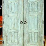 Custom linen closet doors