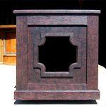 Custom restaurant speaker cabinet