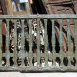 Antique railing