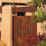 Custom entry gate with grilled shutters