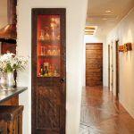 Tin clad bar door