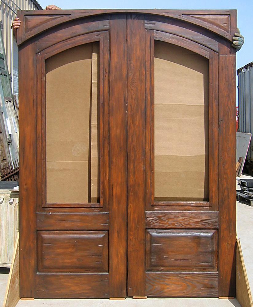 Custom Double Doors; Custom Double Doors With Header