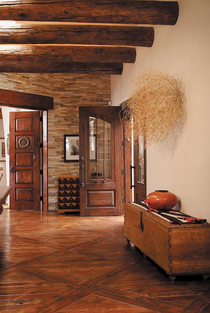 Double Front Door With Astragal La Puerta Originals