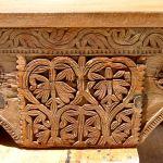 Detail of custom corbel mantel