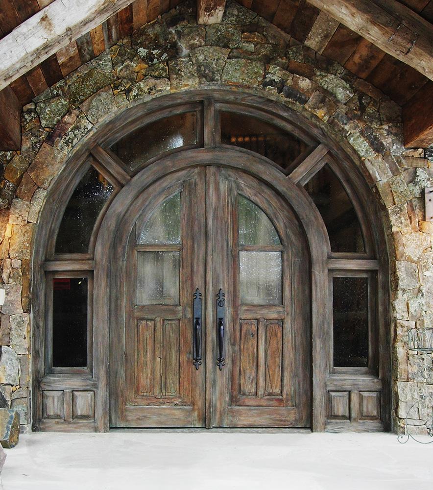 Arched Door With Transom La Puerta Originals