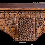 Custom antique corbel fireplace mantel