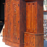 Custom bar cabinet
