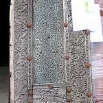 Antique door surround panel