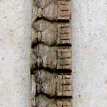 Carved fragment from antique door surround