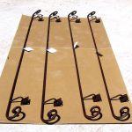 Set of four custom hand rails