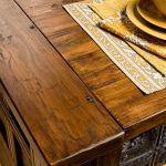 Salvaged lumber detail photo