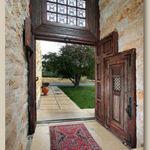 Door-within-a-door shown open all the way