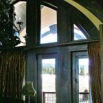 Transom over 5 French doors