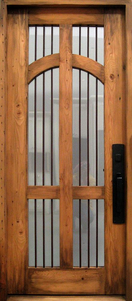 Door With Grill Work La Puerta Originals