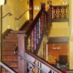 Custom stairwell banister and rail