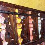 Diablo Cantina stairwell with custom baluster