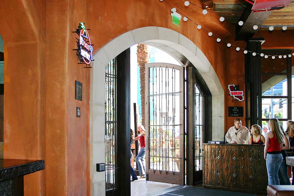 Arched Door With Grill Work La Puerta Originals