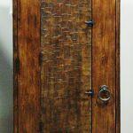 Back of door with operable shutter