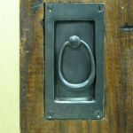 Pocket door handle detail