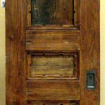 Rustic pocket door front